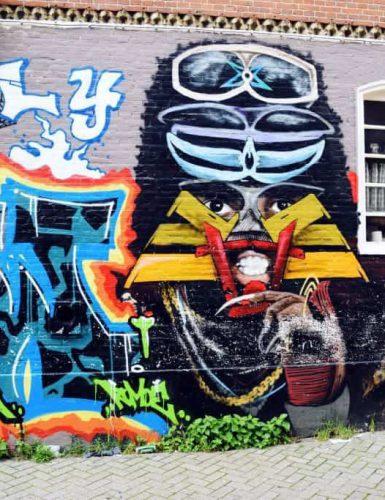 Amsstreettour12 385x500 - Street art guide Amsterdam: de 5 tofste street art plekken