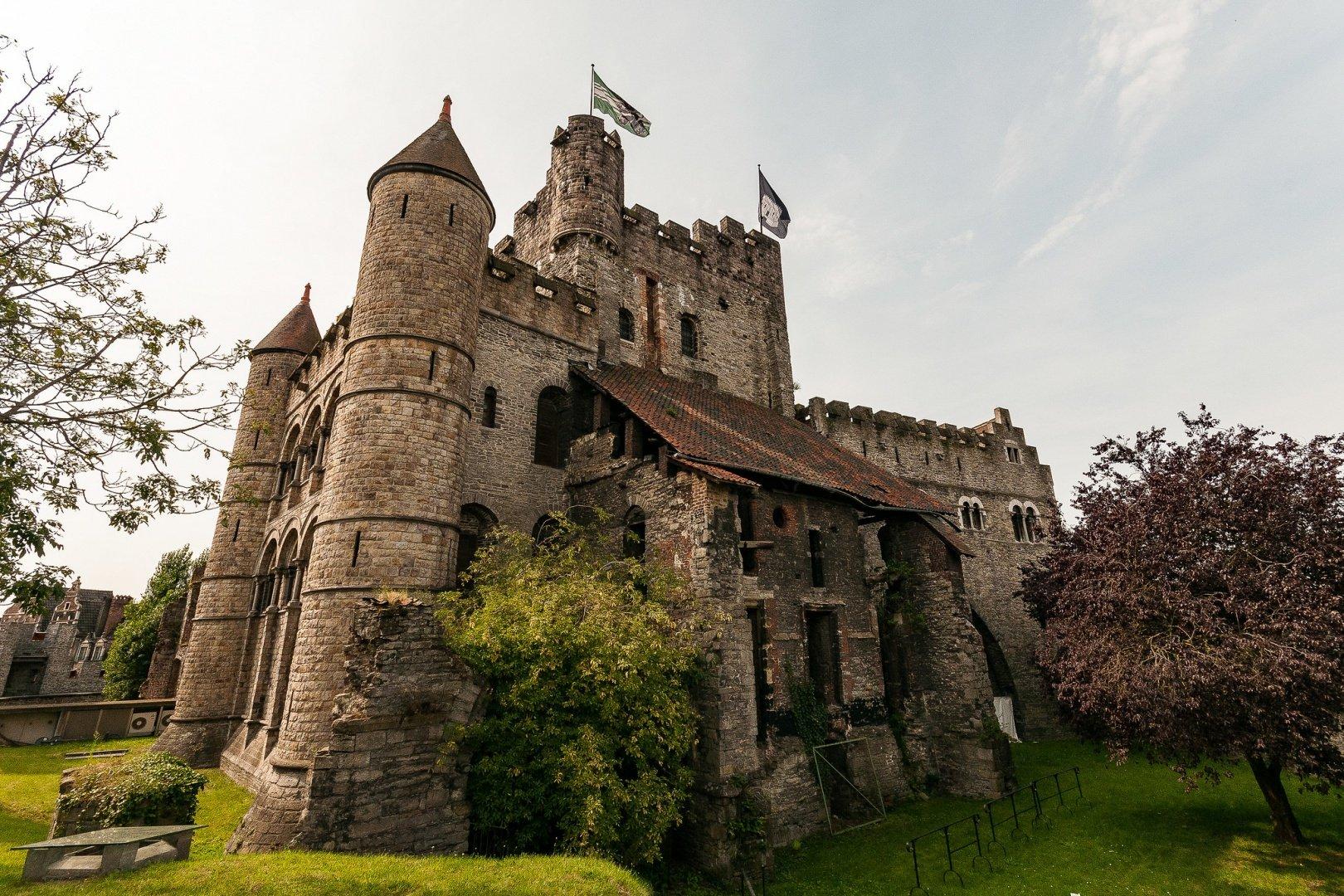 belgie kasteel gravensteen flickr - De 12 mooiste kastelen in België om te bezoeken tijdens een dagje uit