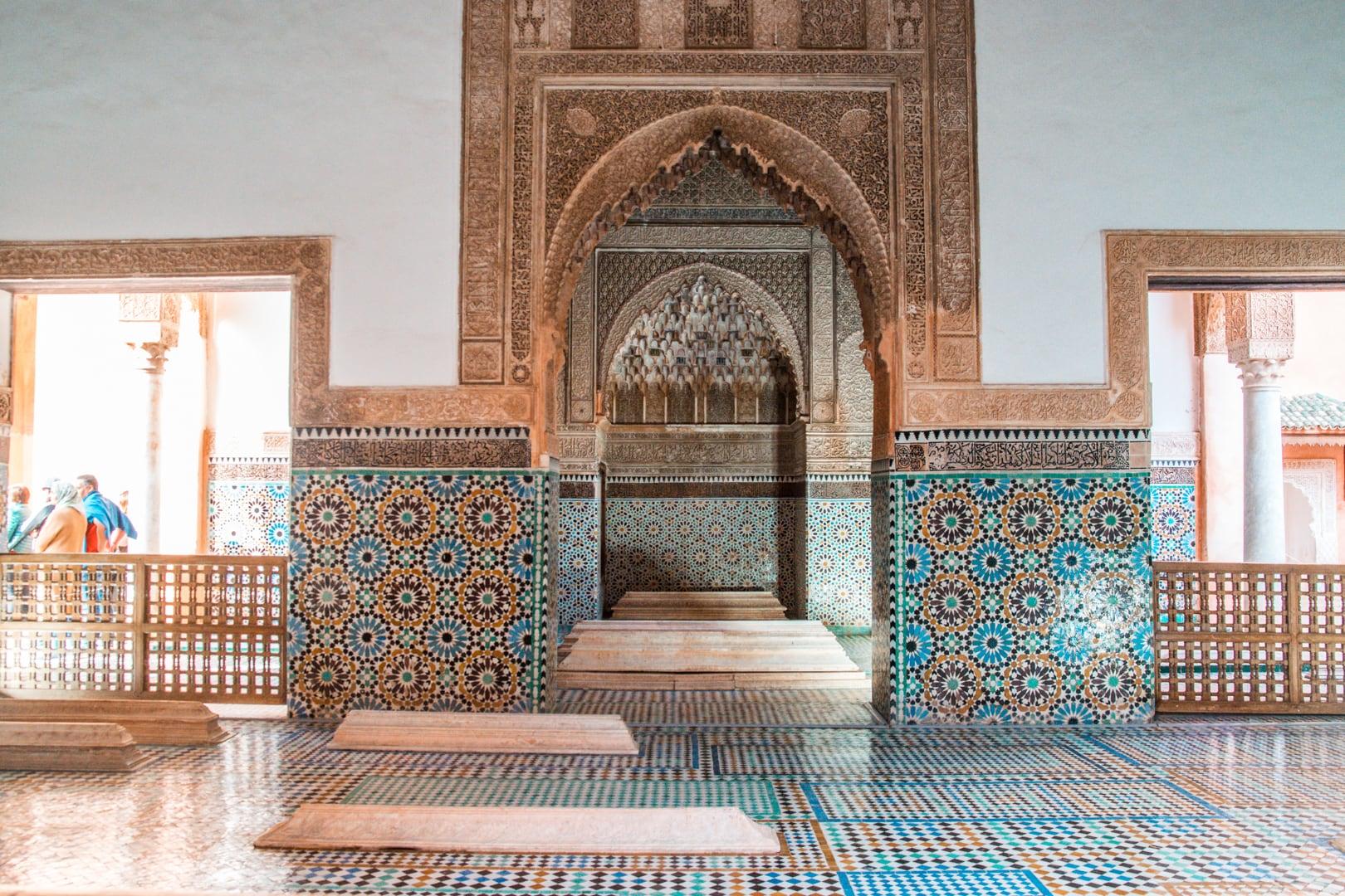 Marrakech Saadiens Tombs Palace4 - Waar verblijven in Marrakech? Dit zijn de 15 leukste Riads voor ieder budget