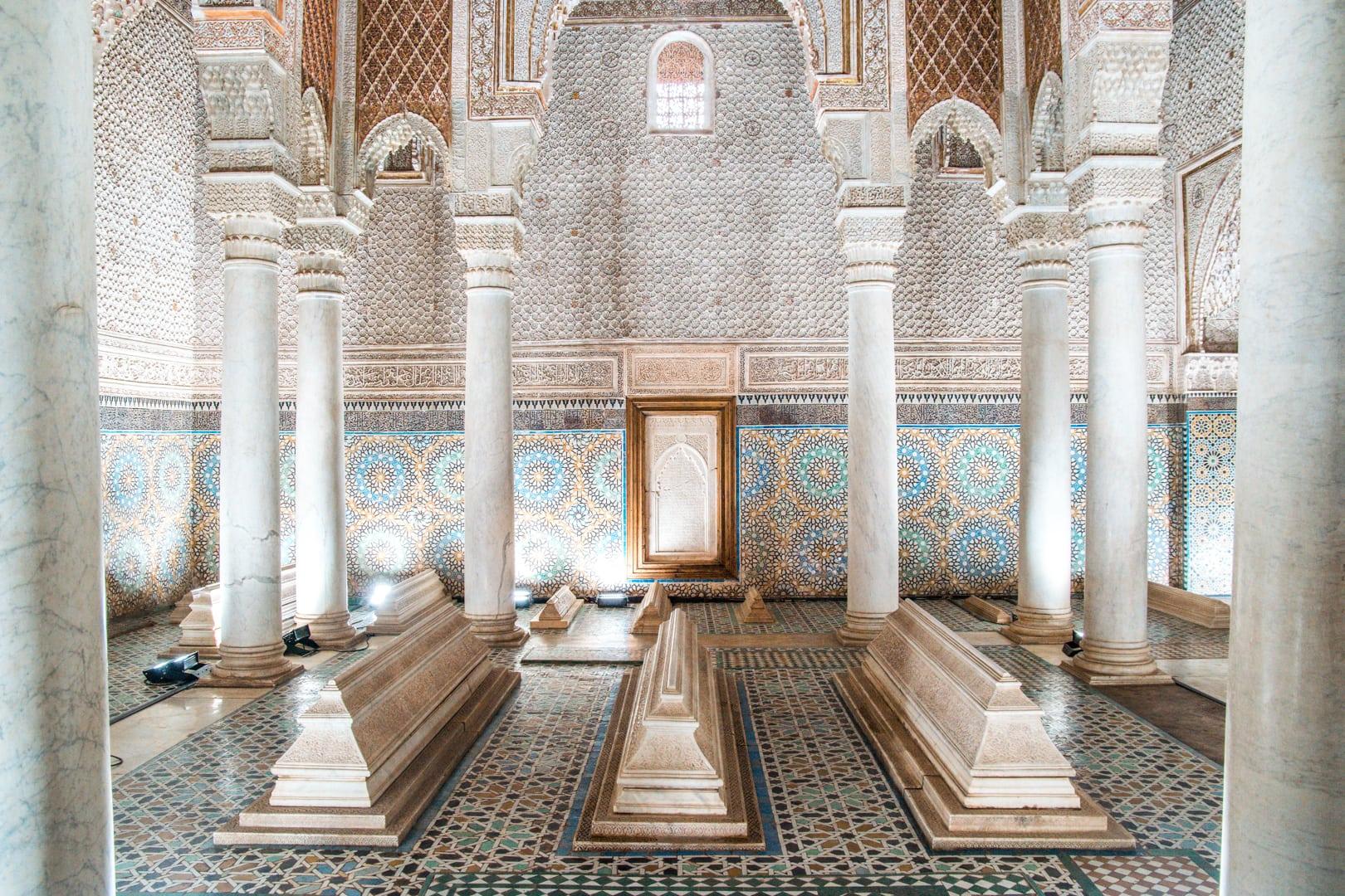 Marrakech Saadiens Tombs Palace7 - Mijn Marrakech tips: 10 bezienswaardigheden die je niet mag overslaan op je stedentrip